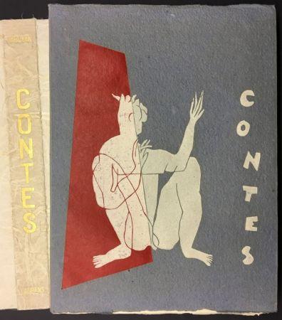 挿絵入り本 Laurens - W. SAROYAN : CONTES. illustré de bois originaux par Henri Laurens.