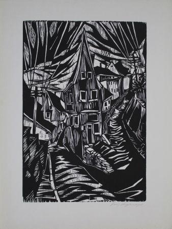 木版 Kupfernagel - Waldenburg