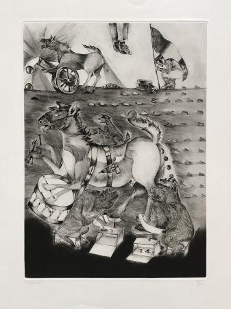 彫版 Toledo - War Horses