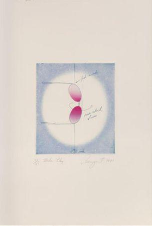 リトグラフ Rosenquist - Water Lily