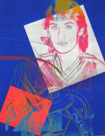 シルクスクリーン Warhol - Wayne Gretzky (FS II.306)