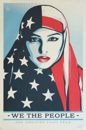 オフセット Fairey - We the People - Are greater than Fear