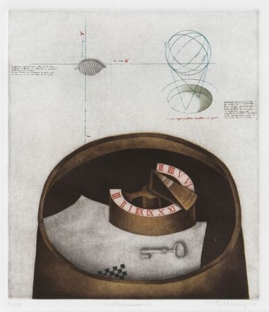 メゾチント彫法 Hwang - Weather