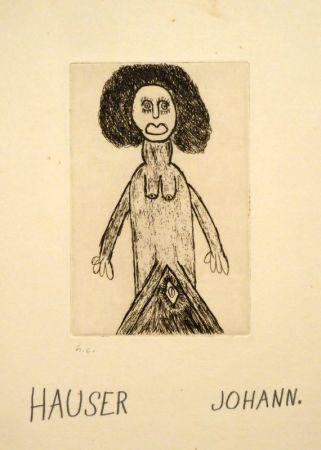 彫版 Hauser - Weiblicher Akt