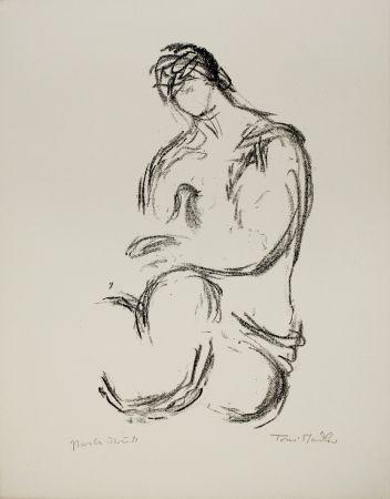 リトグラフ Stadler - Weiblicher Akt / Female Nude