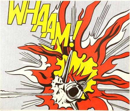 リトグラフ Lichtenstein - Whaam!