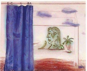 彫版 Hockney - What is this Picasso?