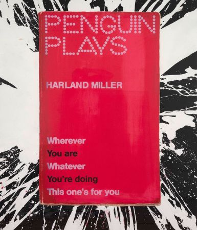 シルクスクリーン Miller - Wherever You Are, Whatever You're Doing,This One's For You