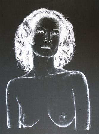 リトグラフ Rodriguez - White 4