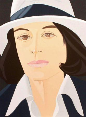 シルクスクリーン Katz - White Hat
