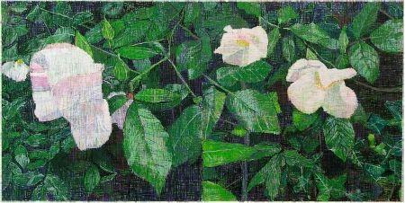多数の Bartlett - White Roses
