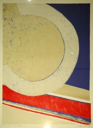 リトグラフ Raussmüller - Wide white Space