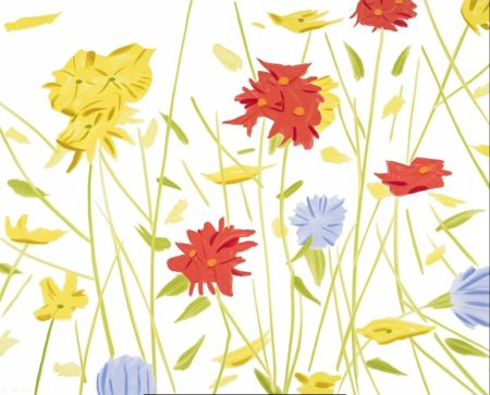 シルクスクリーン Katz - Wildflowers