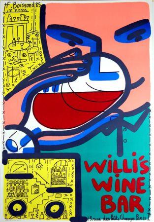 リトグラフ Boisrond - Willis Wine Bar