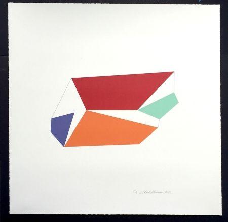 シルクスクリーン Hinman - Wind, from Kites Suite