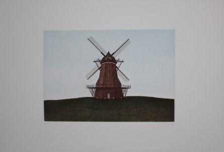 エッチングと アクチアント Moritz - Windmühle