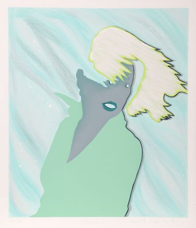 シルクスクリーン Kogelnik - Windy