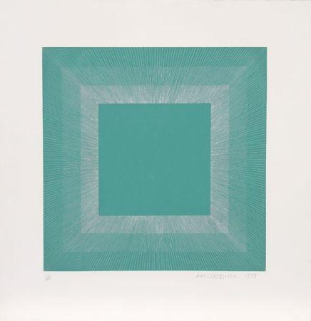 アクチアント Anuszkiewicz - Winter Suite (Green with Silver)