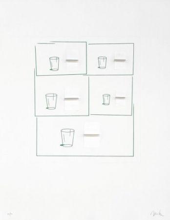 リトグラフ Caldas - Without title 2