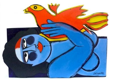 多数の Corneille - Woman And Bird