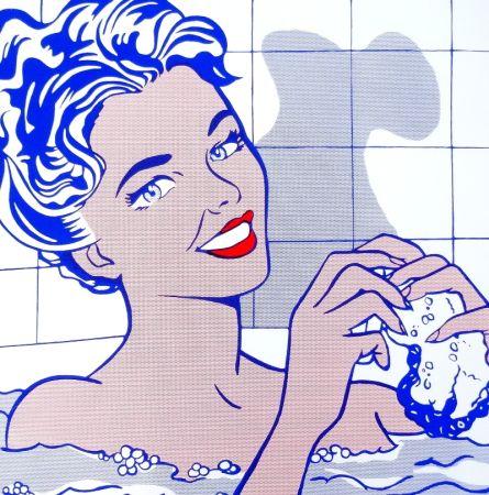 シルクスクリーン Lichtenstein - Woman In Bath