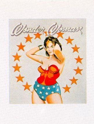 リトグラフ Ramos - Wonder Woman