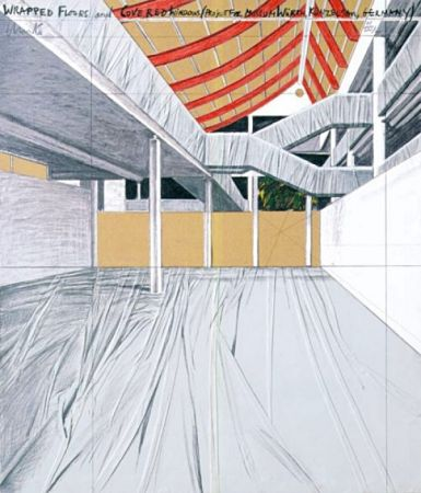 多数の Christo - Wrapped Floors and Covered Windows, Museum Würth