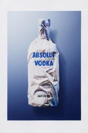 デジタル版画 Edelmann - Wrapped moment of Absolut