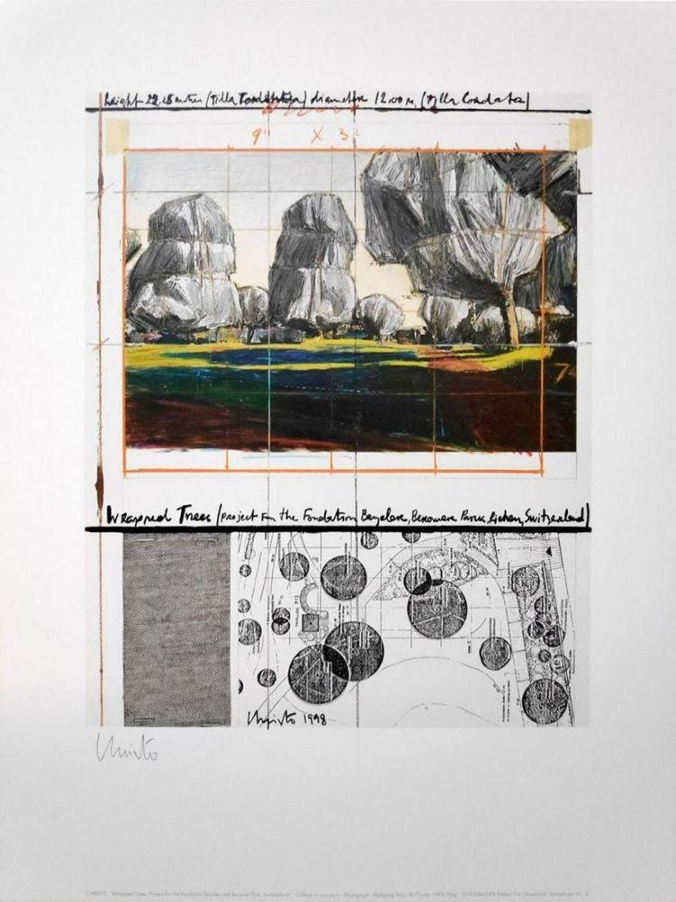 オフセット Christo - Wrapped Trees