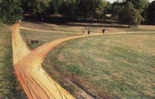 多数の Christo - Wrapped Walk Ways, Loose Park, Kansas City, Missouri, 1977_78
