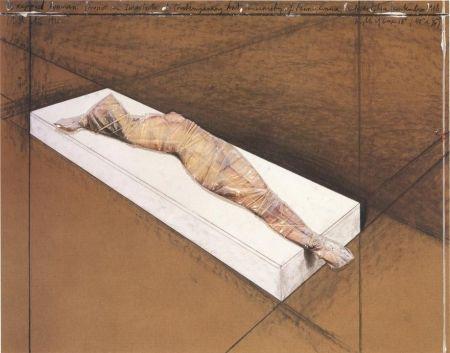 技術的なありません Christo - Wrapped Woman