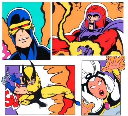 シルクスクリーン Crash - X-Men Portfolio-