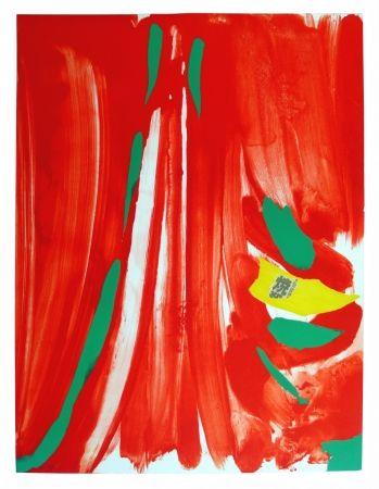 リトグラフ Debré - Xian rouge - Deuxième planche