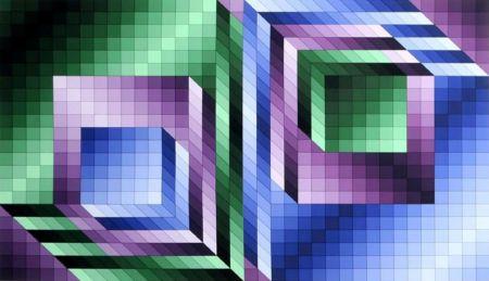 多数の Vasarely - Xonau