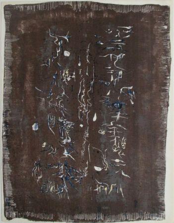 リトグラフ Zao - Xx Siecle, L'ecriture Plastique