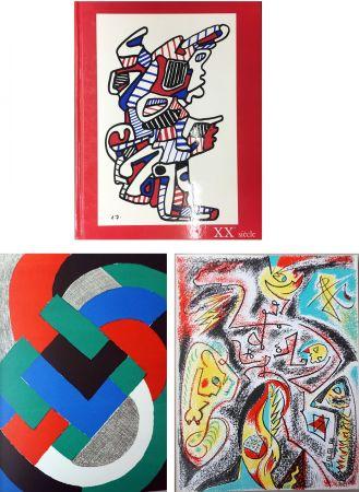 挿絵入り本 Delaunay - XXe SIECLE. Nouvelle série. XXXIe année. N° 32. Juin 1969 (Sonia Delaunay, André Masson)