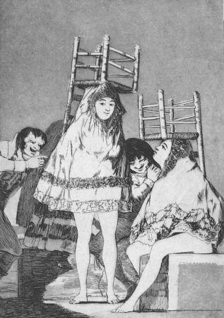エッチングと アクチアント Goya - Ya tienen asiento