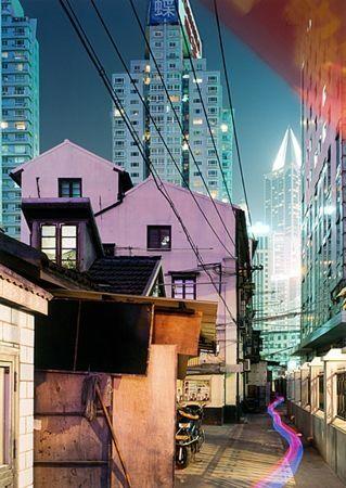 シルクスクリーン Zielske - Yan 'an Donglu, Shanghai