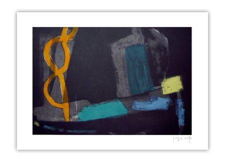 彫版 Capa - Yellow ower dark