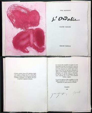挿絵入り本 Garache - Yves Bonnefoy. L'ORDALIE. Maeght 1975