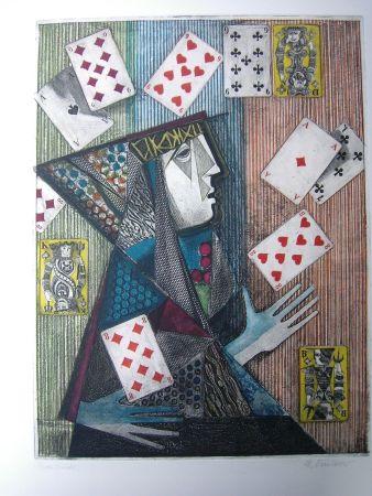 エッチングと アクチアント Finsterer - Zauberer / Magician