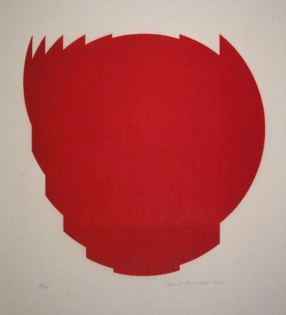 木版 Bosshard - Zerlegung eines Kreises in 9 Teile