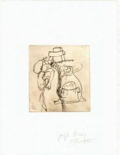 彫版 Beuys - Zirkulationszeit: Die Mütter