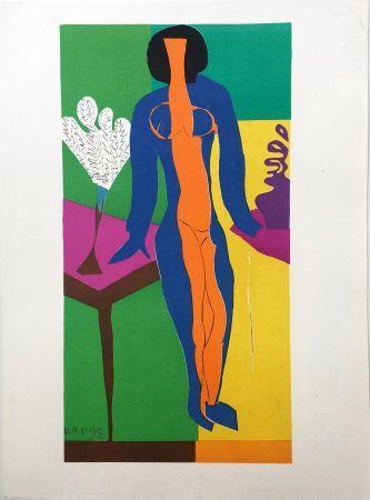 リトグラフ Matisse - ZULMA (1950)
