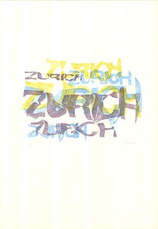 リトグラフ Bury - Zurich